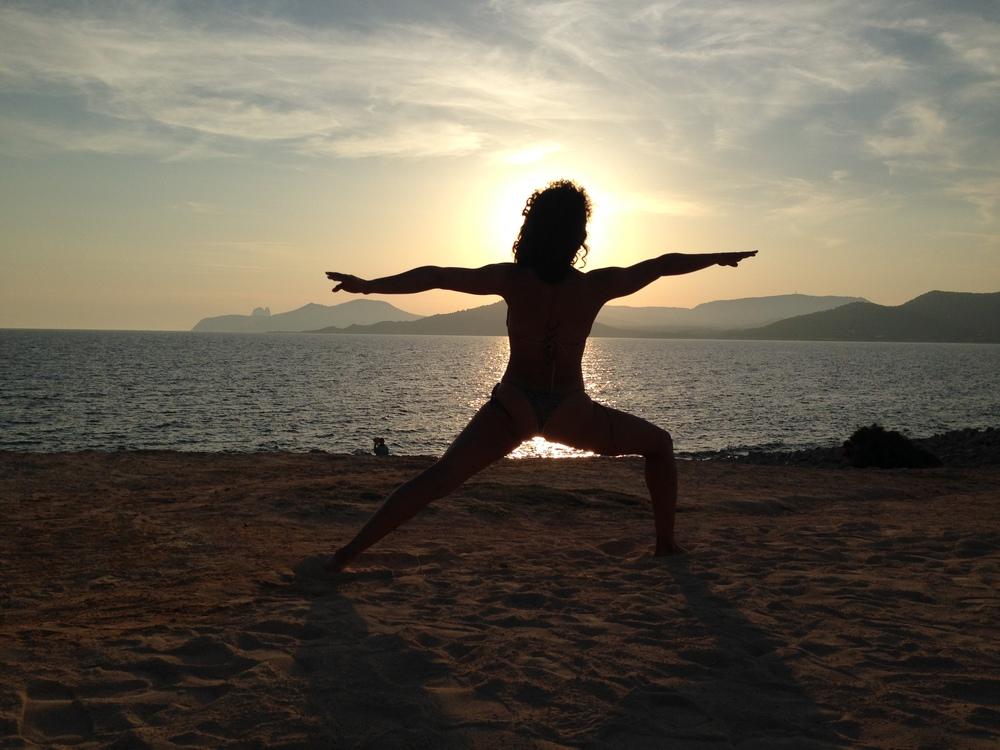 Experimental Beach, Ibiza Sunset. June 2014 © DrNikkiNoce