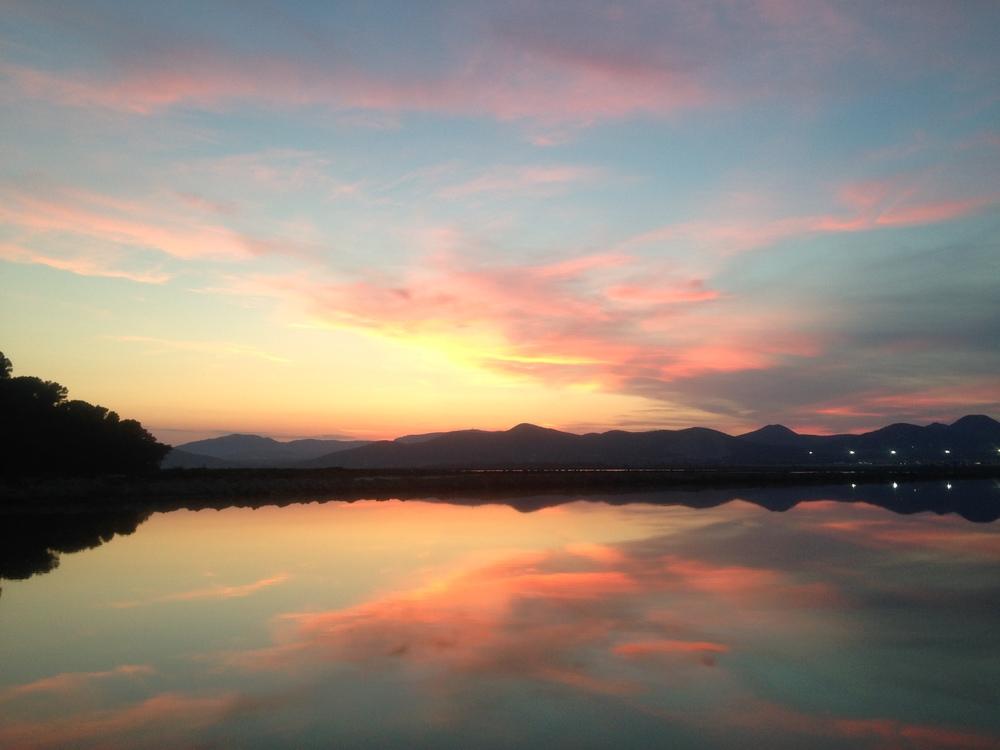 Experimental Beach Sunset, Ibiza June 2014. ©DrNikkiNoce