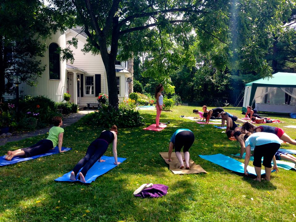 The Yoga and Farm-to-Table Retreat was a favorite event!
