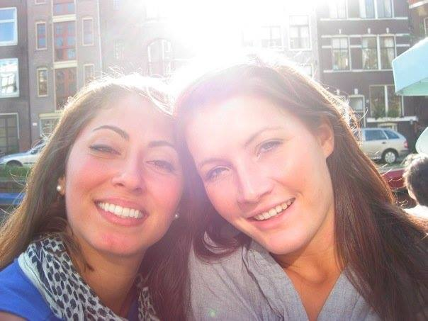 Dr. Nikki and Alexandra in Amsterdam, 2009