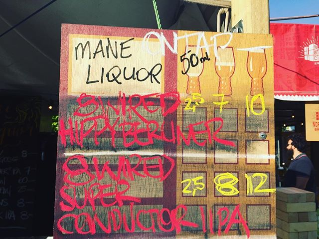 First kegs tapped @8wiredbrewing Hippy Berliner & Superconductor @maneliquor stand @perthbeerfest more to come !