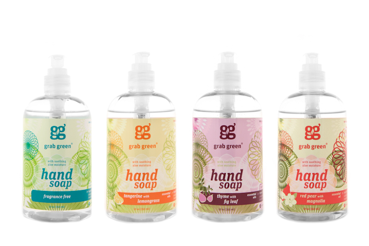 Image result for grab green hand soap