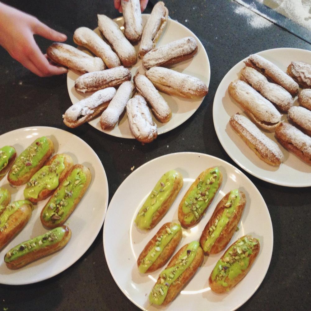 pistachio_eclairs_la_cuisine_paris_aspiring_kennedy