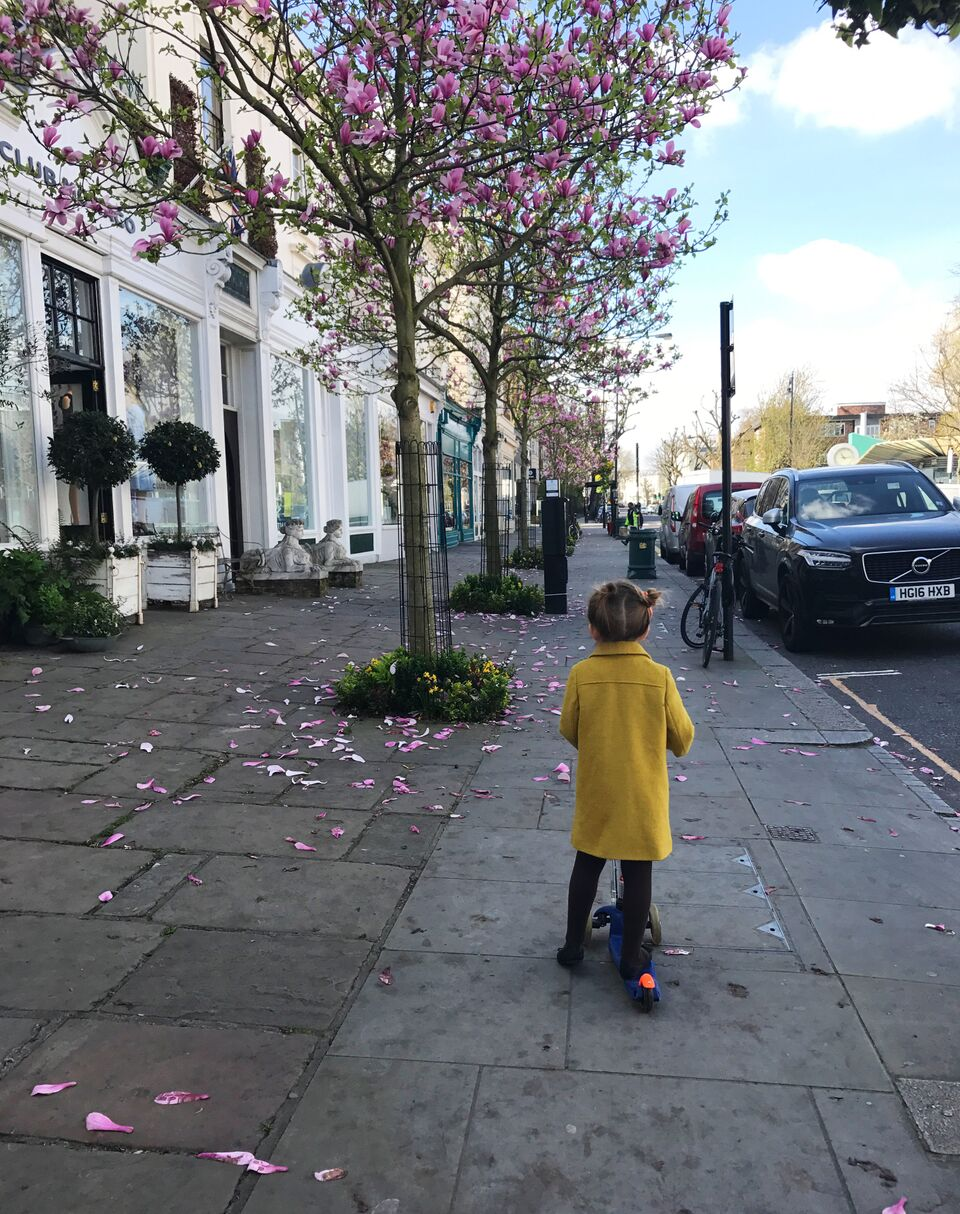 - Living in London with kids