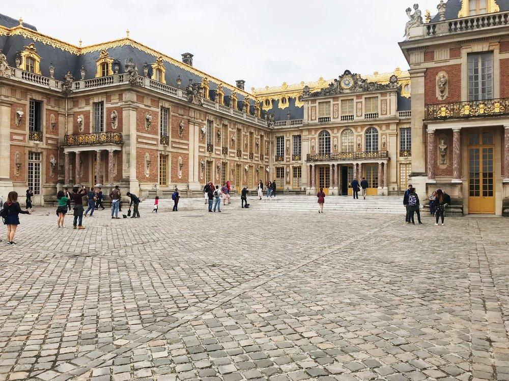 - Visiting Versailles