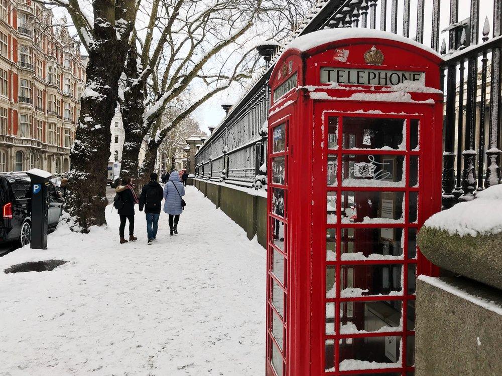 - UK CHRISTMAS TRIP (LADIES ONLY)DECEMBER 3 - 9, 2018