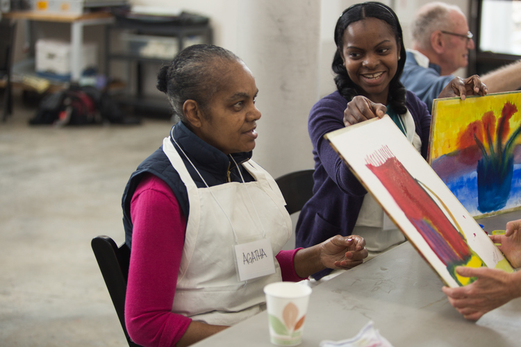 This six-session class offers conversation-based gallery tours and studio artmaking experiences for individuals with dementia and their care partners. Artmaking in the Frye Studio encourages experimentation with various media including watercolor paint, clay, and collage. A short social time concludes each class.  here:now programs are free. Space is limited and pre-registration is required.  For more information, visit  http://fryemuseum.org/program/here_now .  To register, call 206 432 8265 or email herenow@fryemuseum.org  Select Wednesdays, September 13–October 18   here:now Art-Making Class and Gallery Tour   Select Wednesdays, November 8–December 20   here:now Art-Making Class and Gallery Tour
