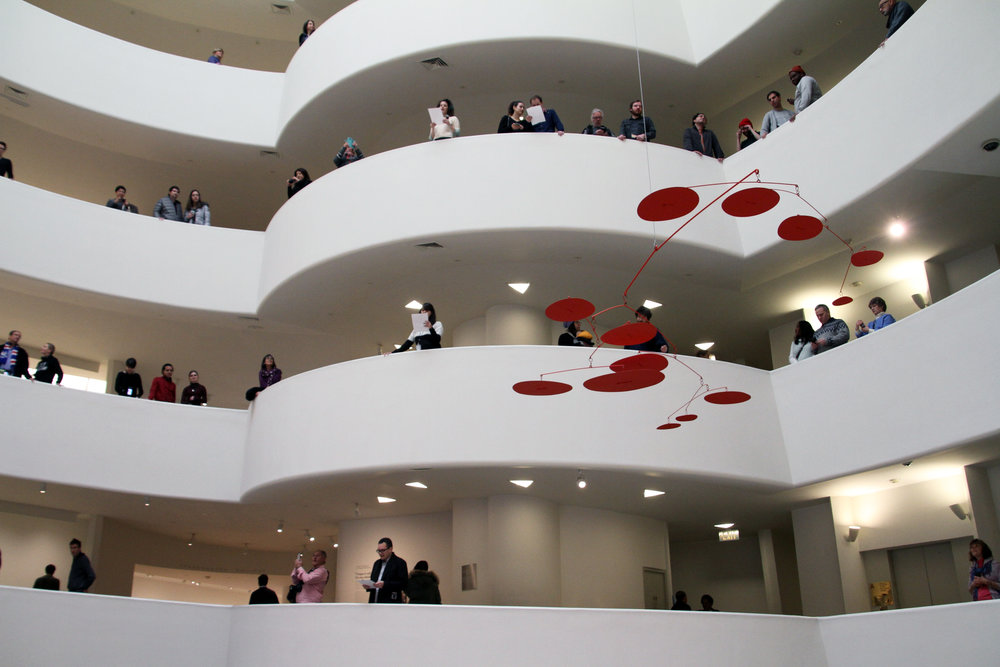 The Oldest Song in the World at the Guggenheim