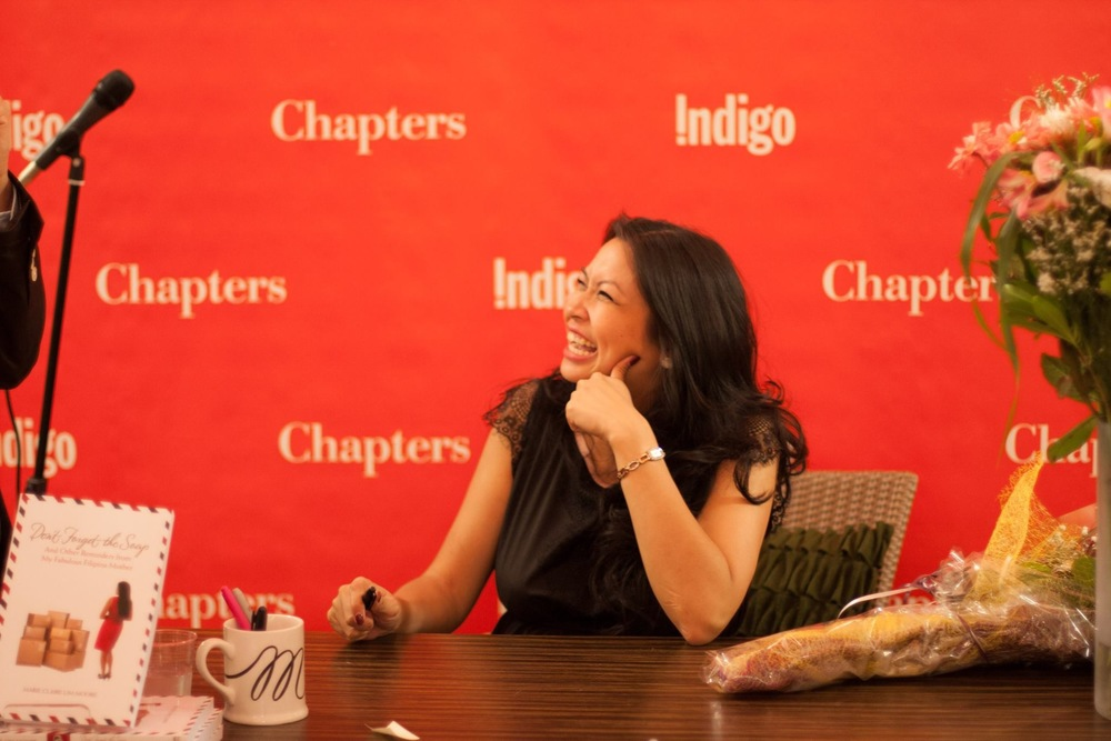 DFTS Launch in Vancouver at Chapters Metrotown (August 2014)