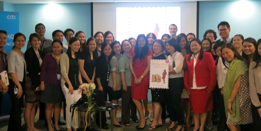 Citibank Philippines Women's Council (December 2013)
