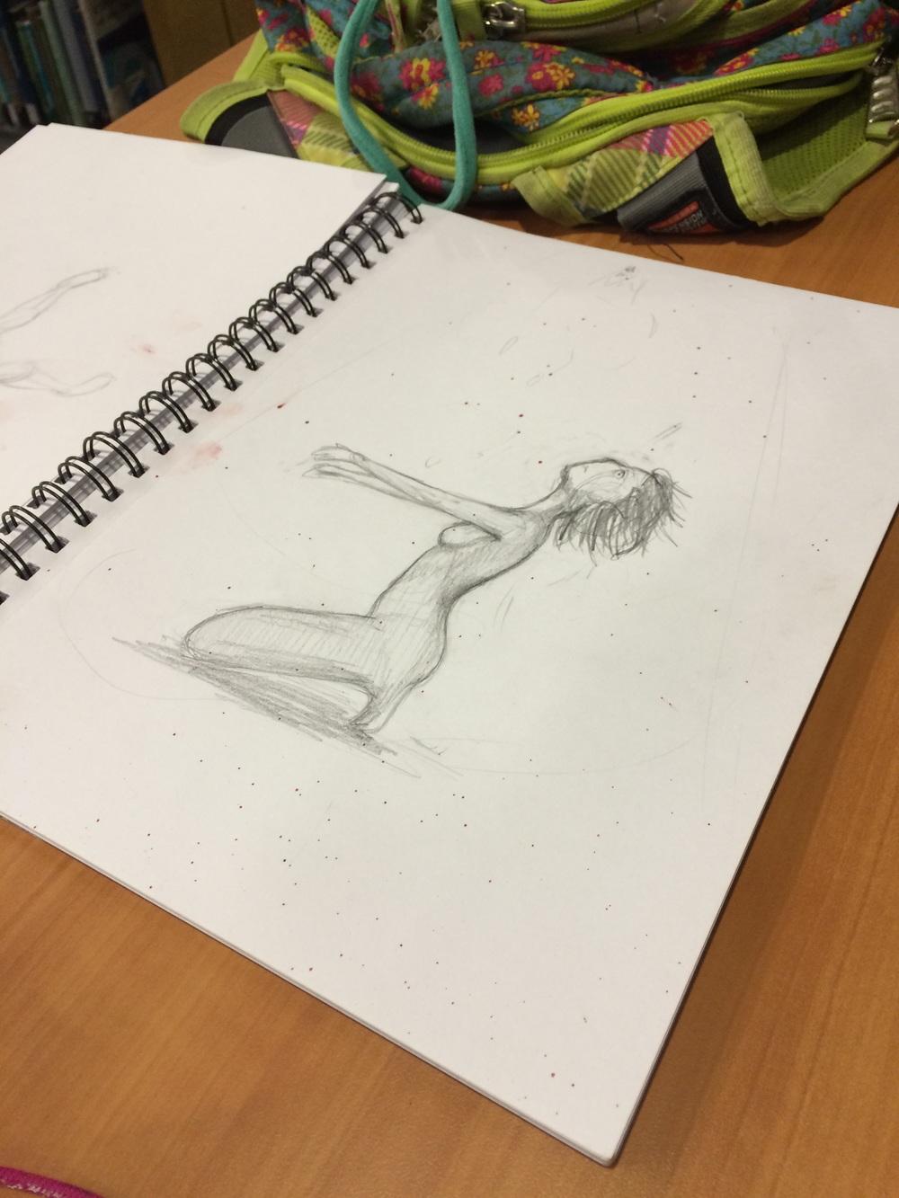 """Sketch """"Hope"""""""