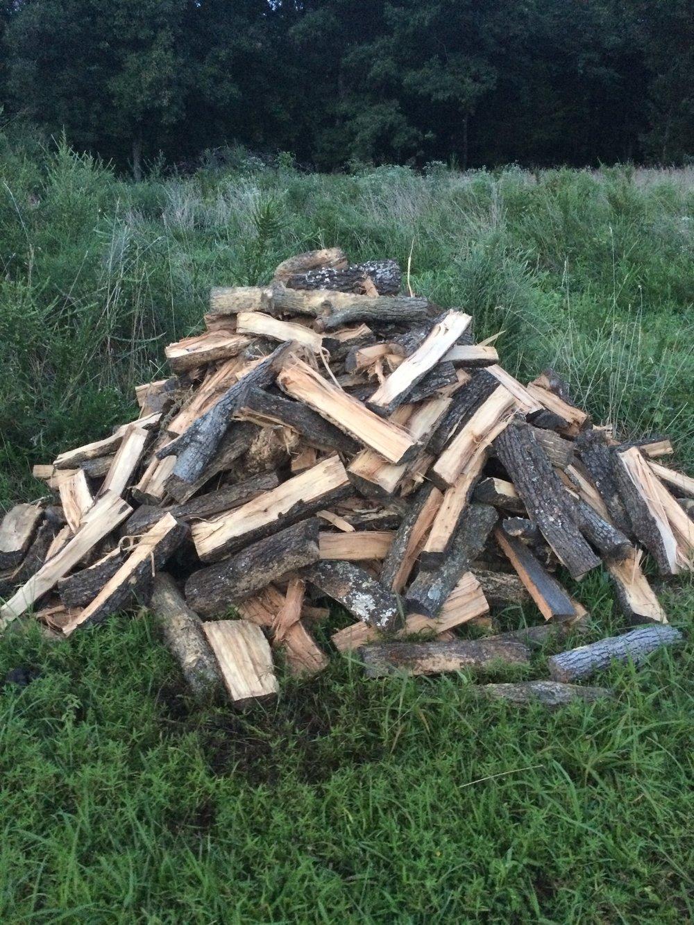 hickory smoking wood