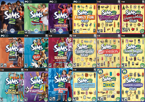 The Sims 2 sold more than 20 million copies and spawned  seventeen  expansions
