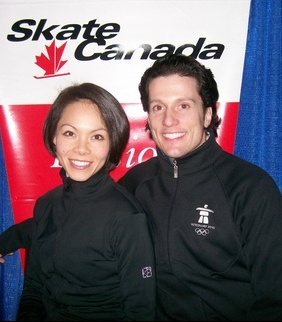 Megan Wing and Aaron Lowe, Directors of the Vancouver Ice Dance Academy.