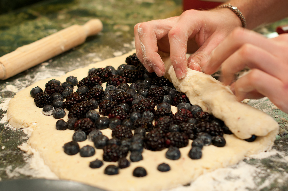 Rolling Berries