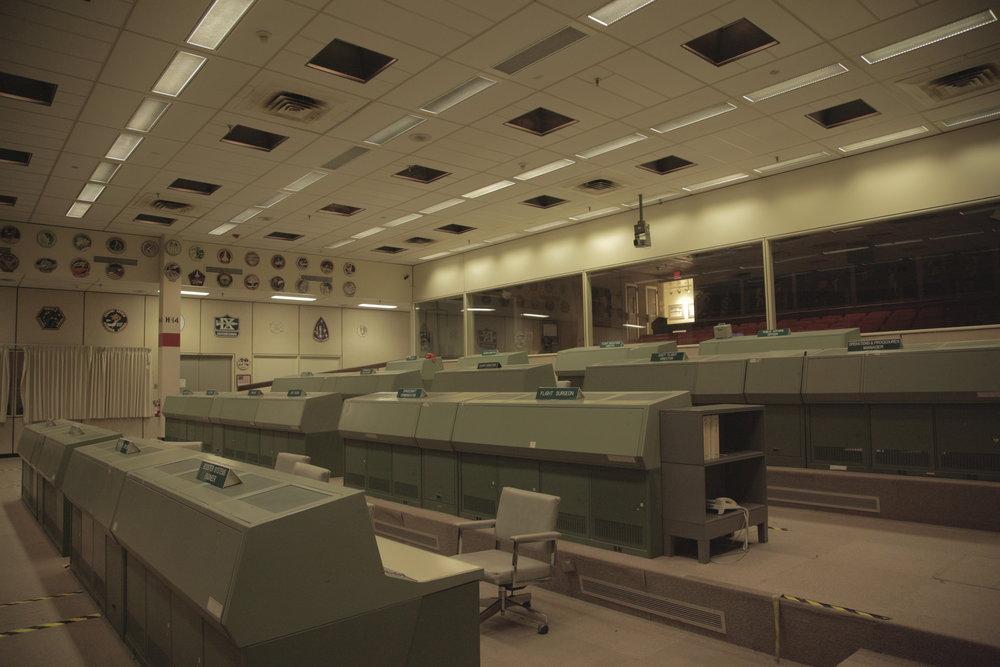 Command Center Johnson Space Center for Apollo 13