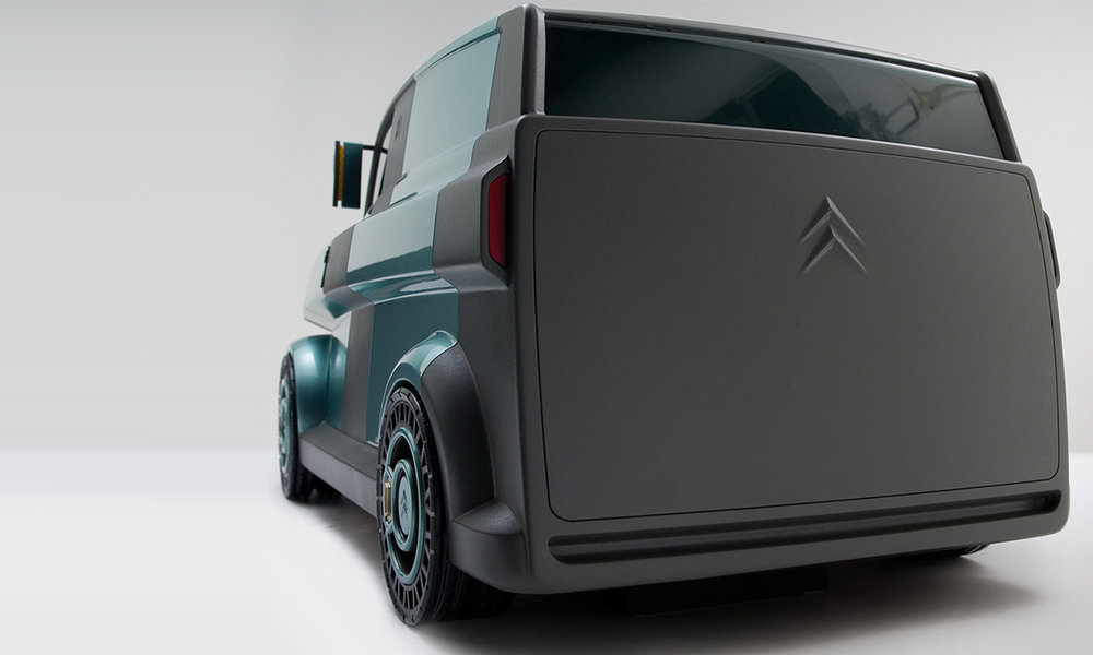 CITROËN H VAN  Modular vehicle concept College For Creative Studies Role: industrial design, prototype fabrication