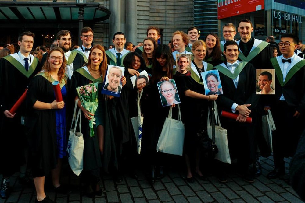 Edinburgh University Class of 2016 GIS / Earth Observation / GIS & Archeology