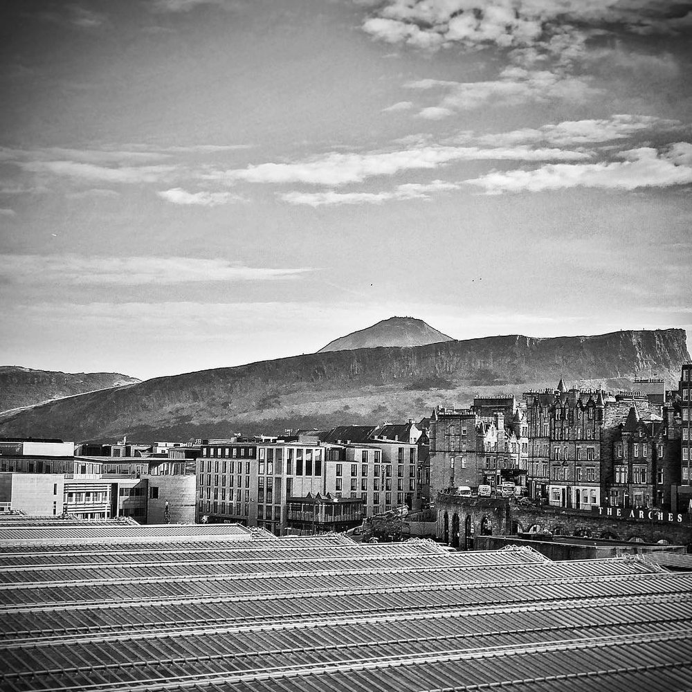 Arthurs Seat from North Bridge