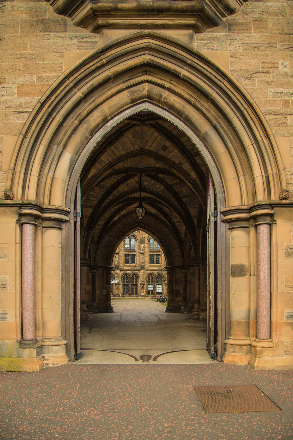 Entrance to the Quad