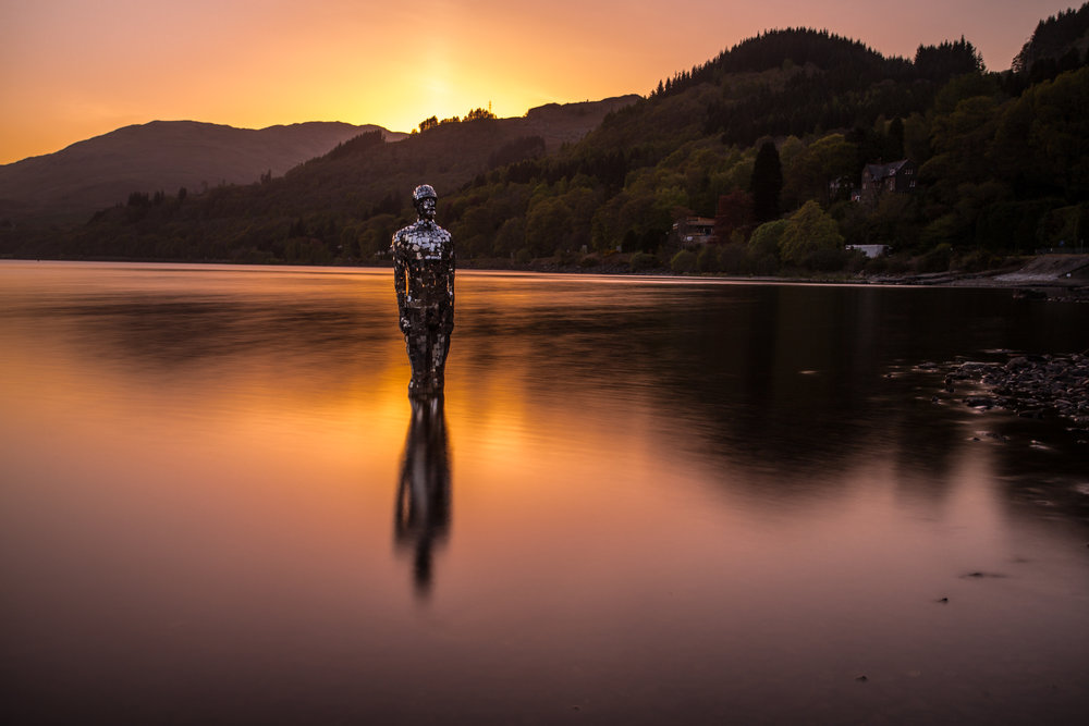 Sunset on Loch Earn