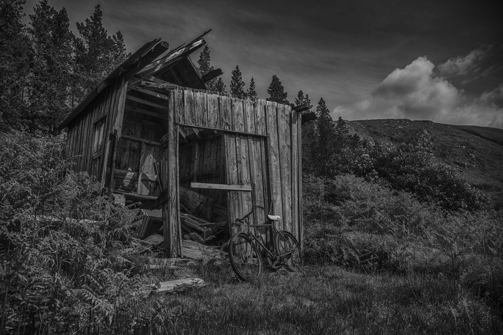 Old Shed, Glen Etive