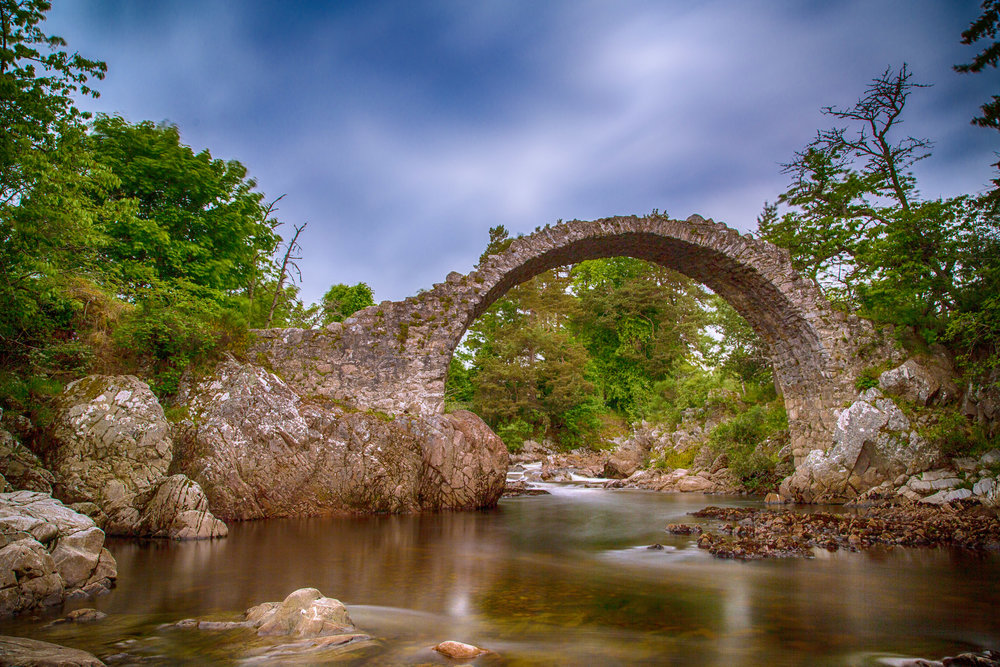 Carrbridge - The old bridge