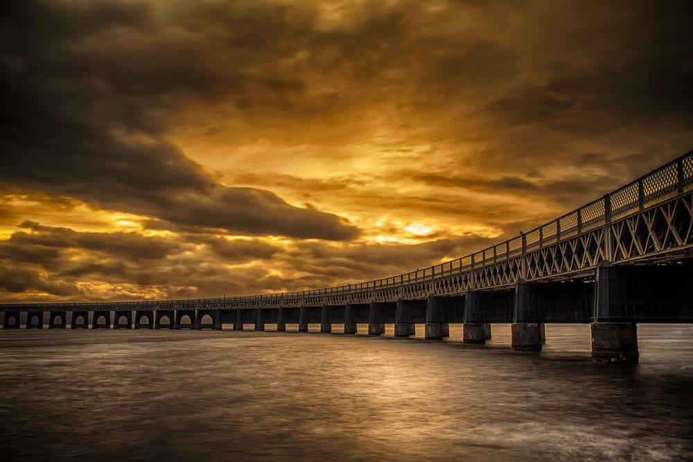 Apocalytpic Tay Rail Bridge