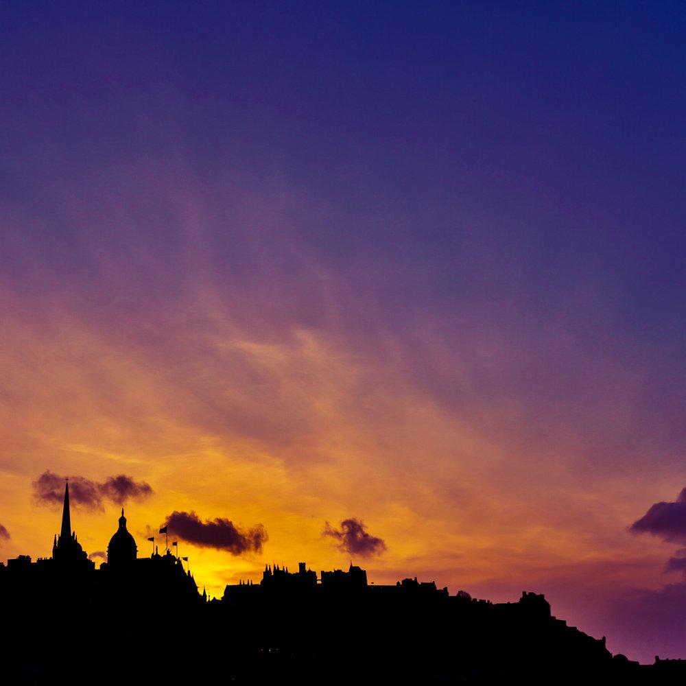 Sunset silhouet