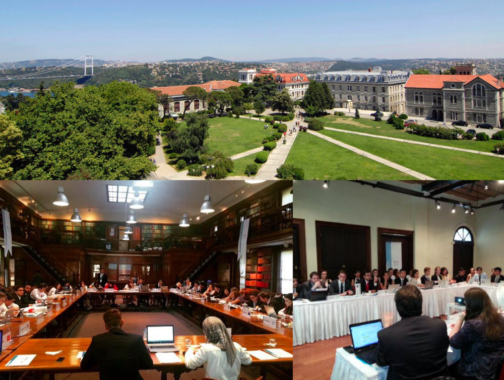 Y20 paralel meetings hosted by Boğaziçi University. Images are courtesy of @Y20Turkey's OC
