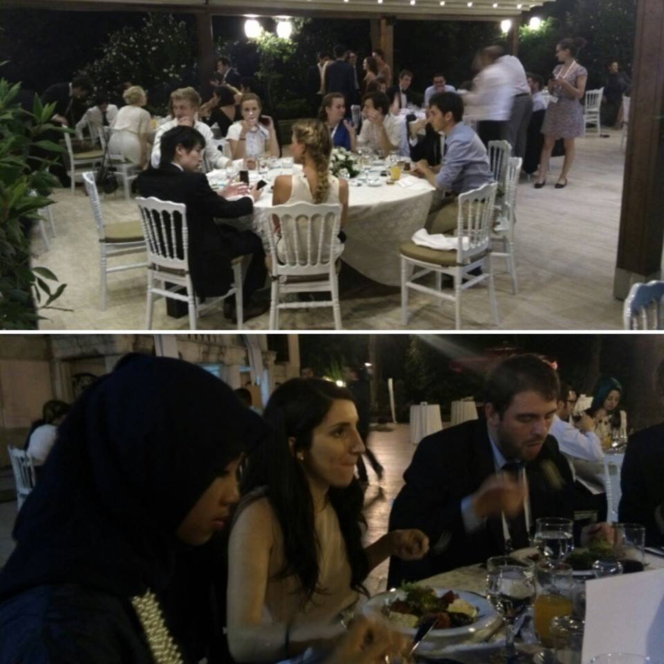It's a wrap: the Gala Dinner marked the bittersweet of the last conference day.