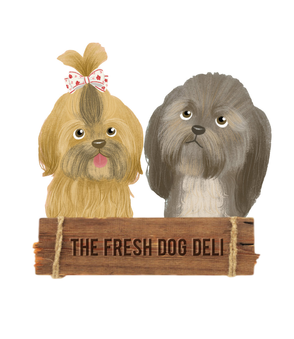 The Fresh Dog Deli   Yorkshire based dog groomer branches out into home-made, healthy dog food and required an authentic logo to get started.