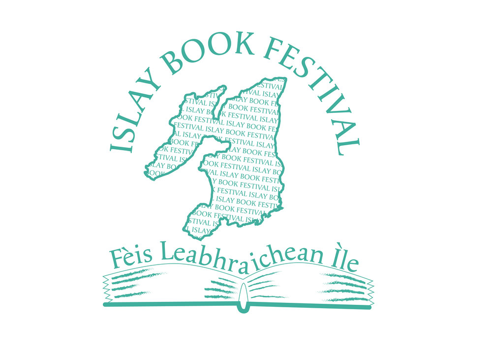 Islay Book Festival   A design competition was held within Islay High which saw a winning sketch developed into a digital logo.