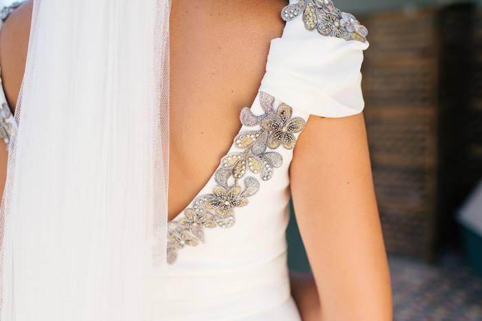 Apliques bordados para vestidos de fiesta