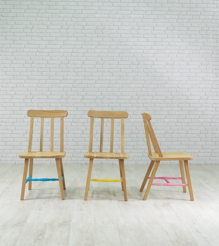 Danja Dining Chairs in various painted colours