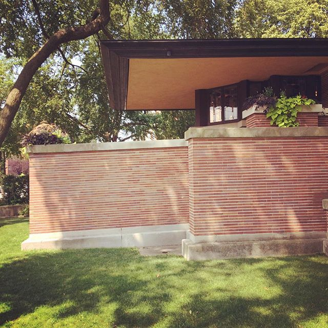 Our @tobyrkeeton is visiting the great #franklloydwright 's Robie House today, and getting inspired!  #masterpiece #architecture #design #classic #architecturelovers #architecturenerd #chicago