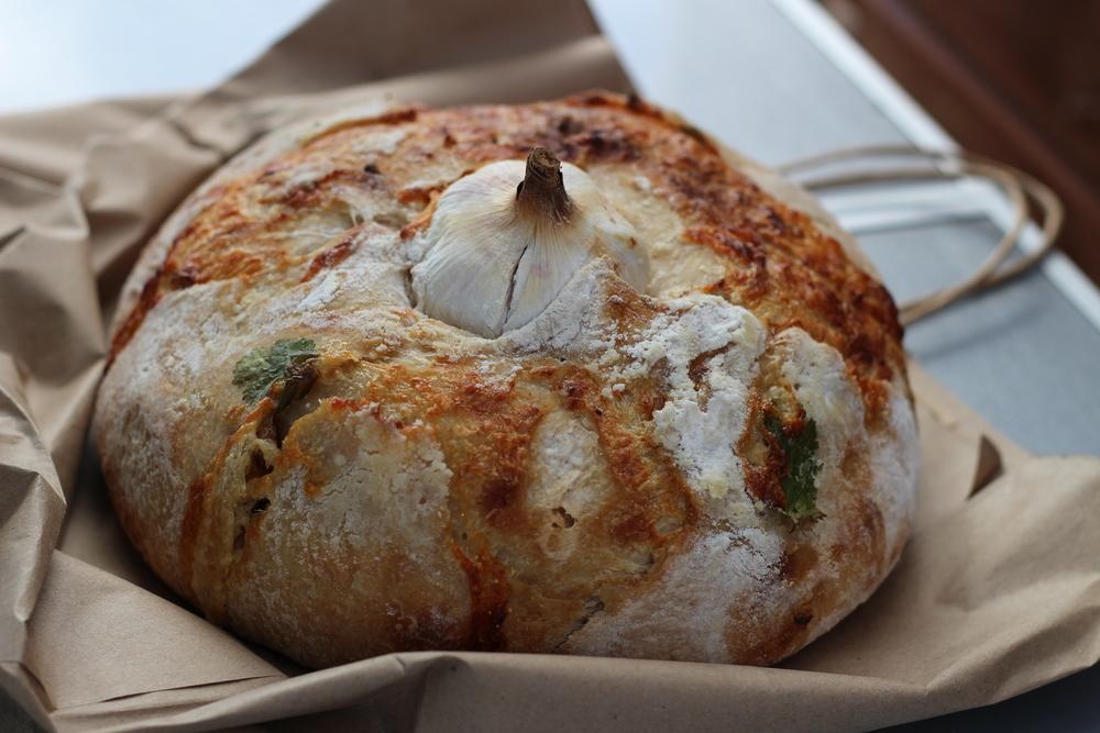 the best garlic bread el triunfo mexico