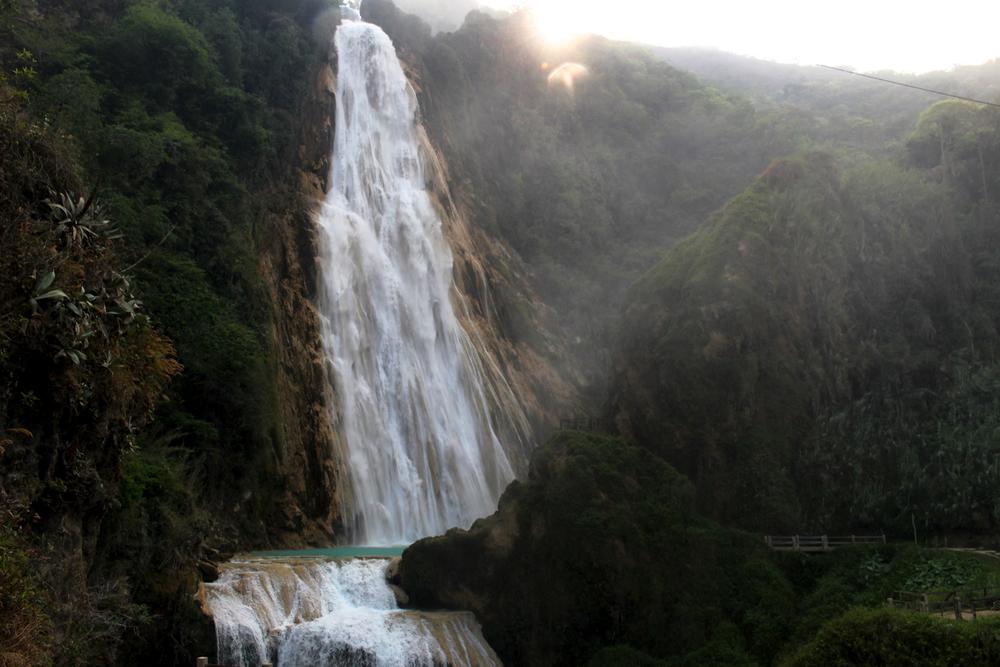 El Chiflon Waterfall Chiapas Comitan Mexico