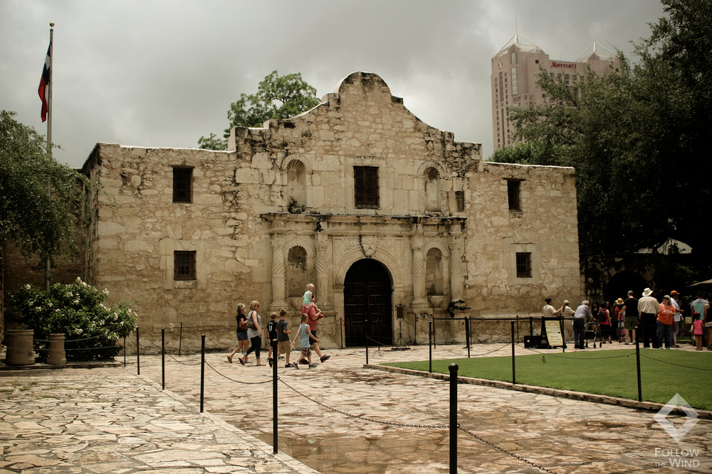 FollowTheWind The Alamo San Antonio Texas Travel Adventure