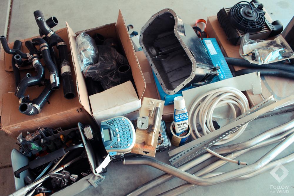 m-TDI Motor Swap Parts
