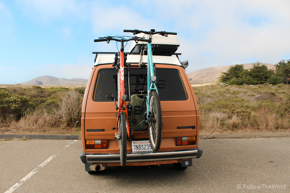 Vanagon MTB California Coast