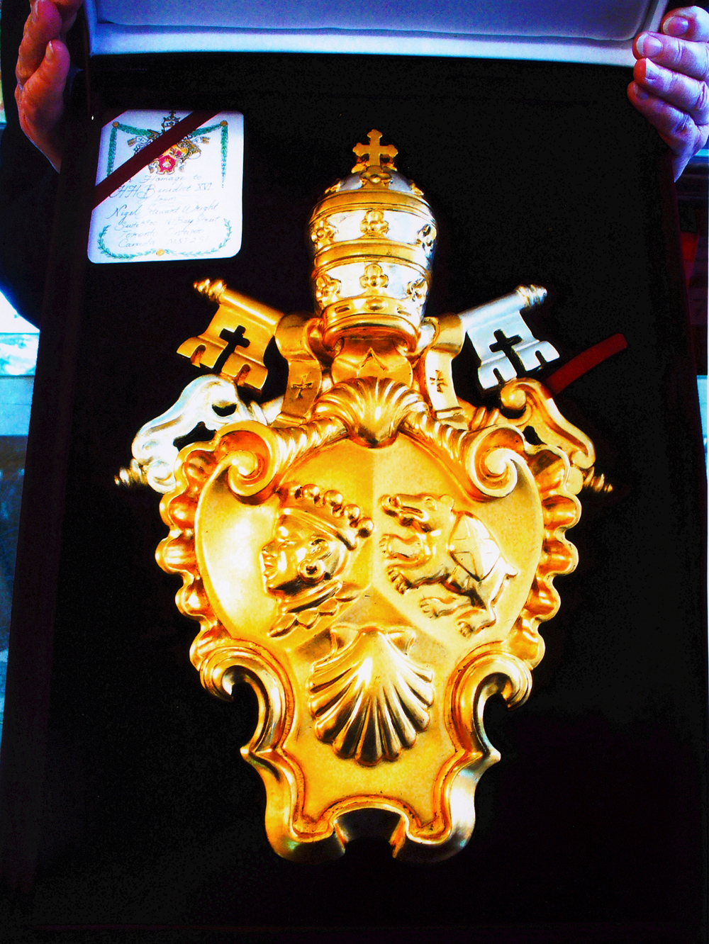 Coat of Arms for Pope Benedict XVI