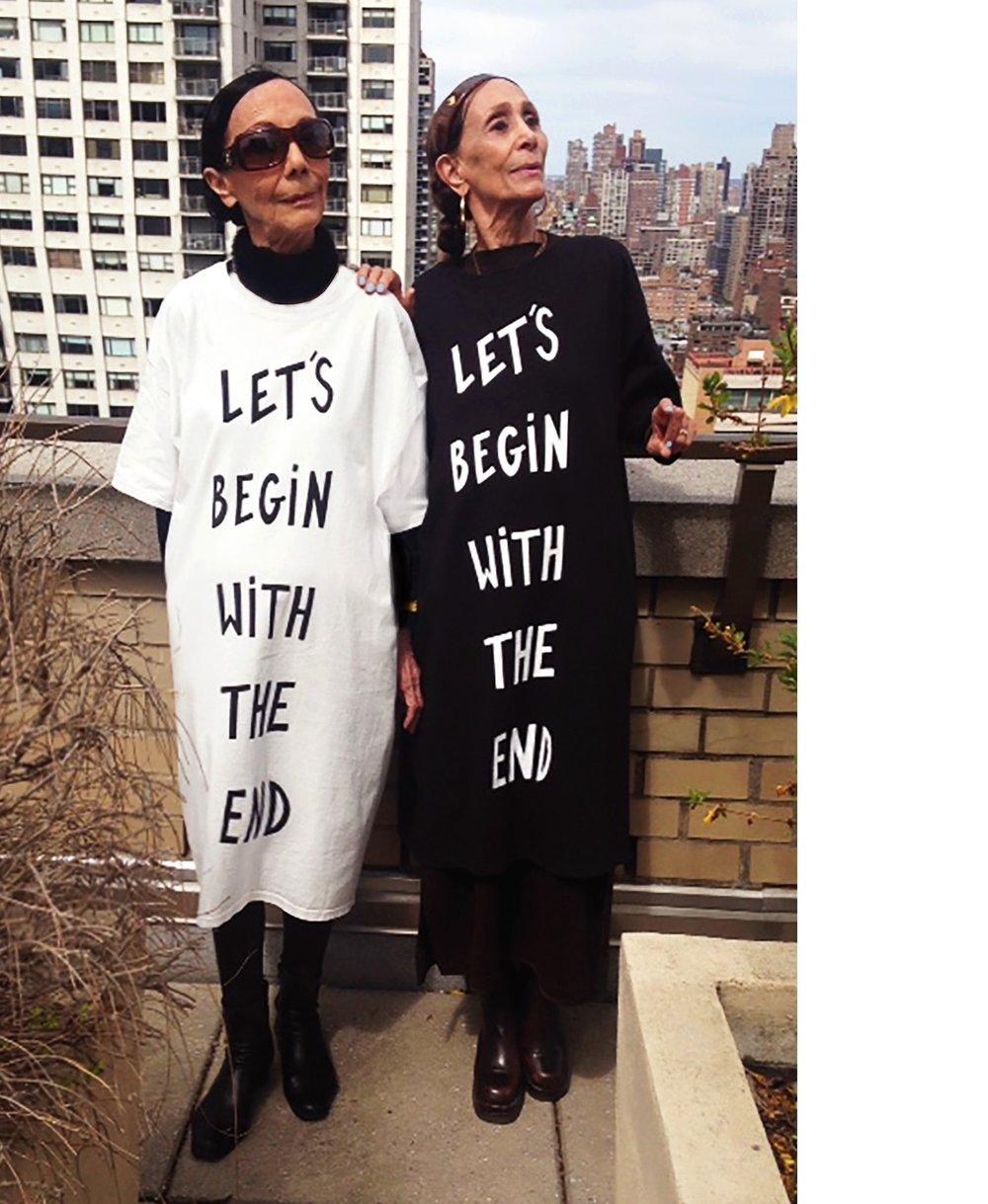 ELISE AND CAROLINE IN NEW YORK