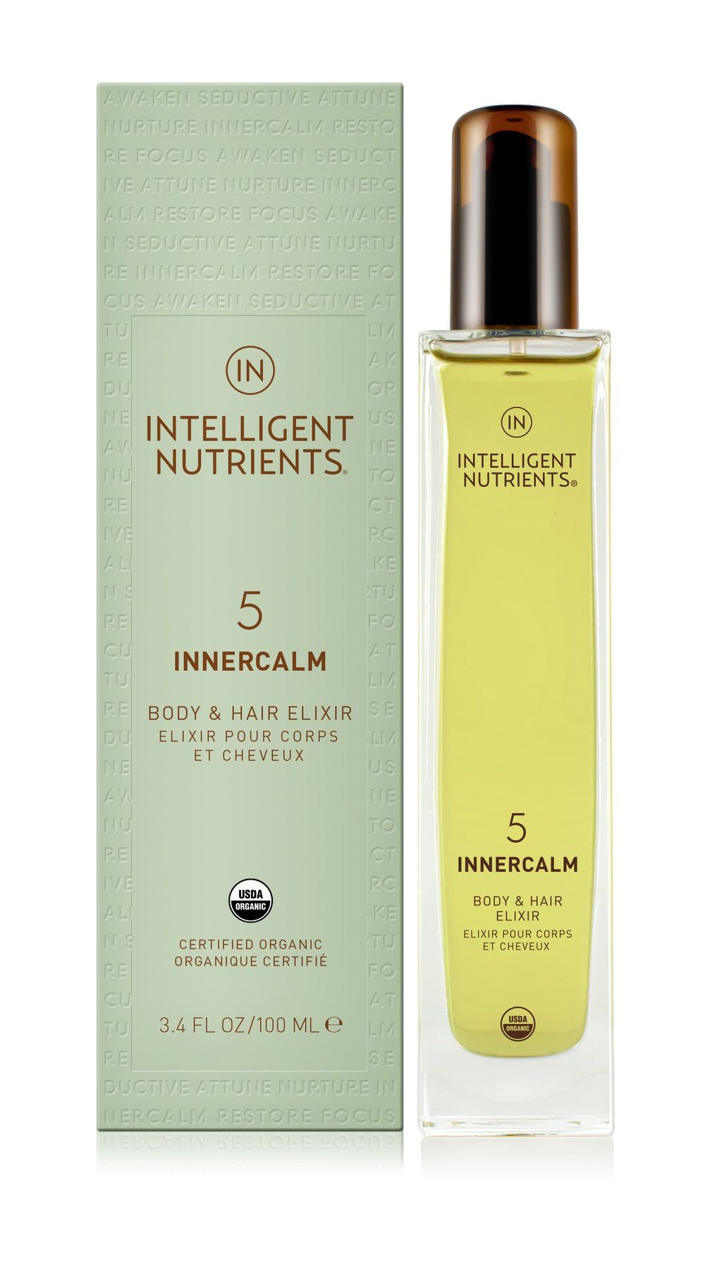 (5) Innercalm Body & Hair Elixir (DKK455/100ml)