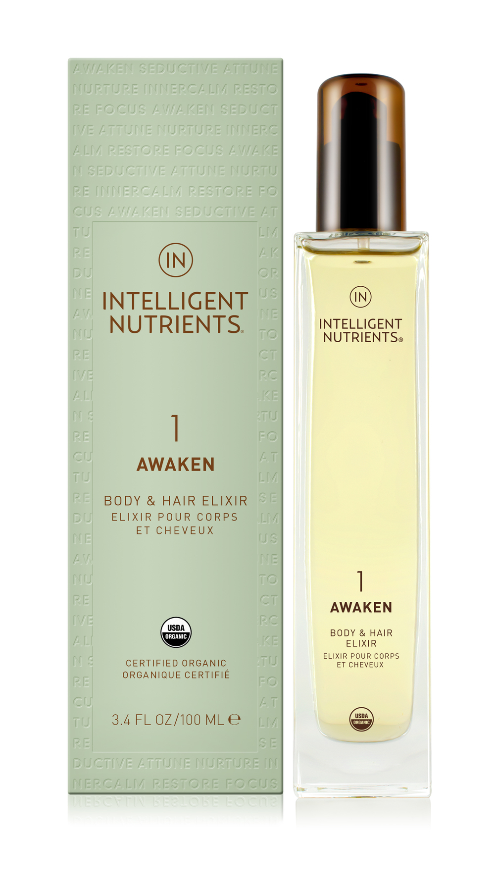 (1) Awaken Body & Hair Elixir (DKK455/100ml)