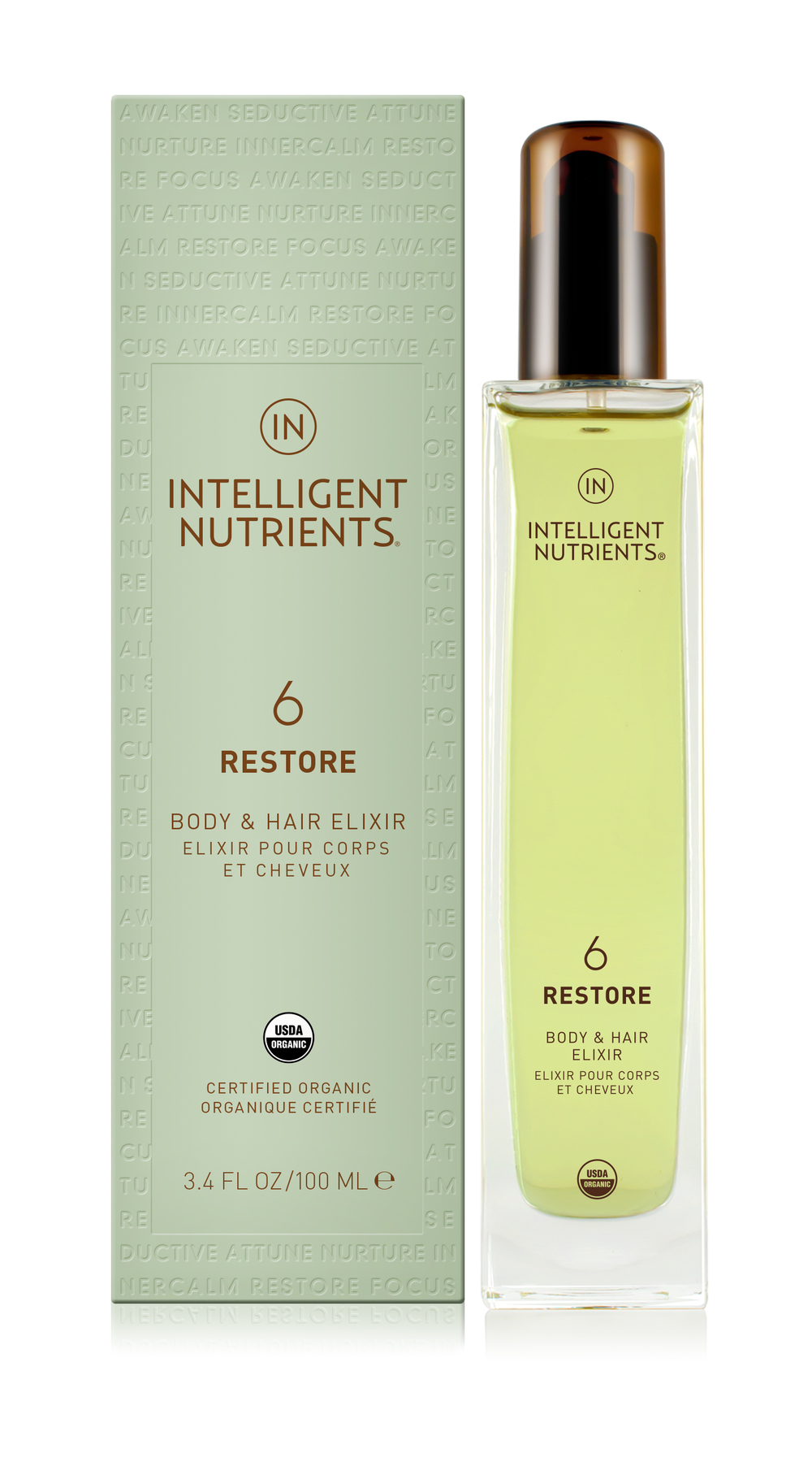 (6) Restore Body & Hair Elixir (DKK455/100ml)