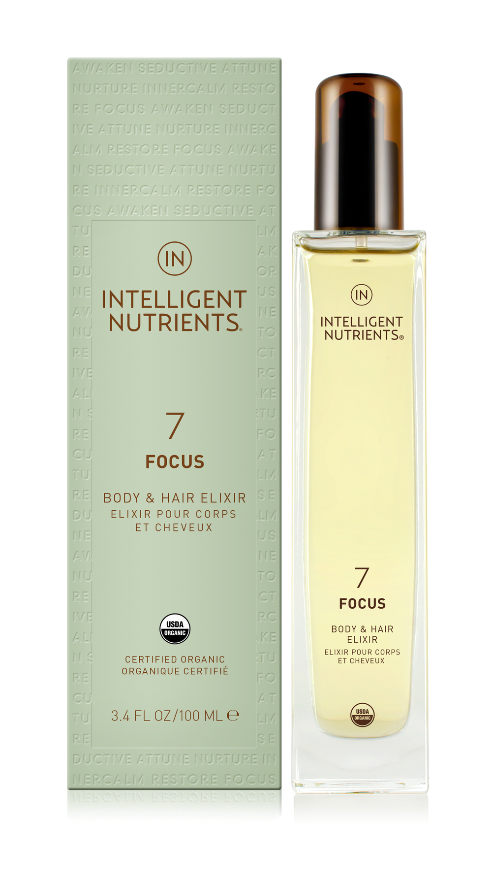 (7) Focus Body & Hair Elixir (DKK455/100ml)
