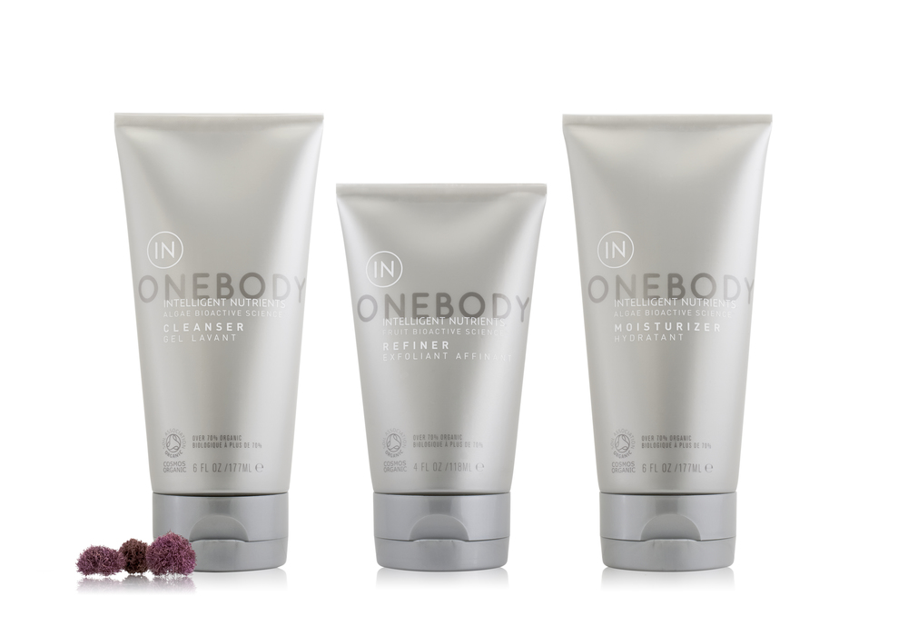 Onebody series (featuring algae ingredients)