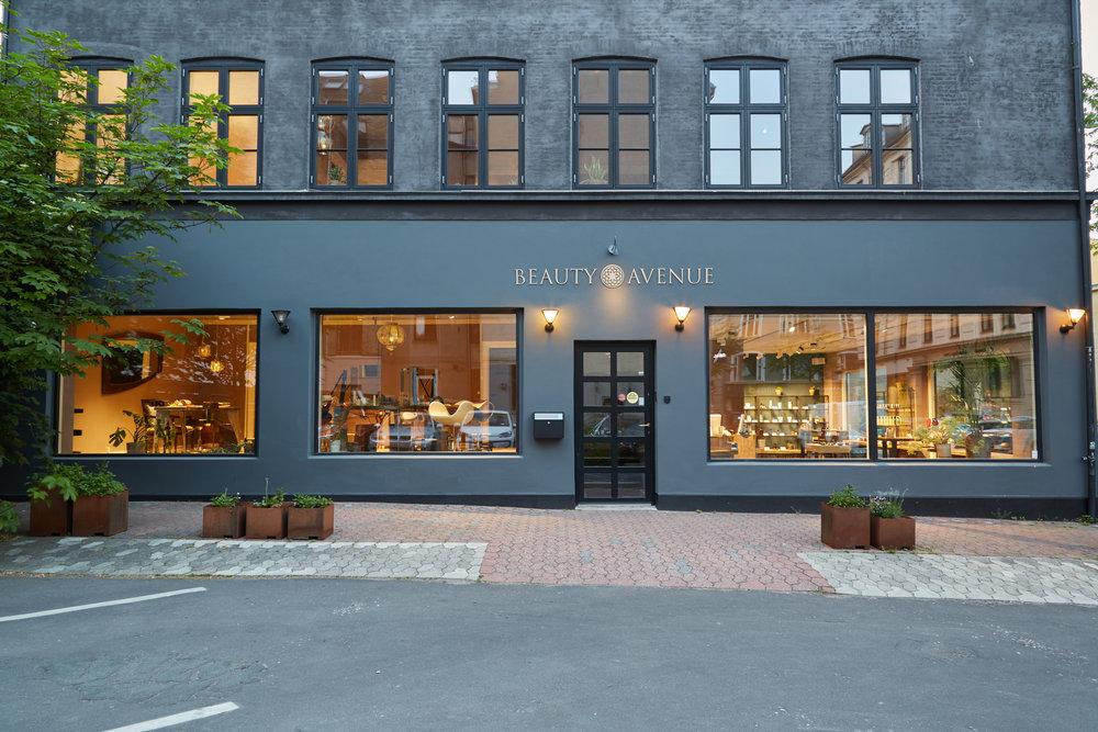 Beauty Avenues skønhedshus på Frederiksberg