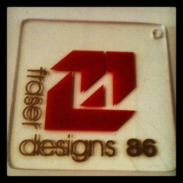 Retro identity. Might have to resurrect this.  (Taken with  Instagram  at My house)